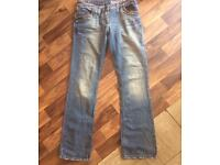 River Island Relaxed bootleg size 12 Ladies jeans