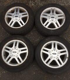 "Ford Focus 15"" alloys wheels."