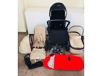 Joolz Day Studio Pram, Pushchair and Lots of Accessories (inc. unused spare covers)