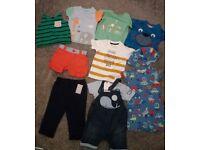 Baby boy clothes bundles 3-6m 6-9m 9-12m