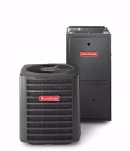 RENT-TO-OWN a High Efficiency Furnace OR Air Conditioner for 49.95 / MONTH. Free service/ repairs for 10 years.