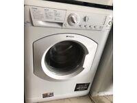 HOTPOINT Futura 8kg super silent washing machine £120 good condition