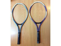 Two Tennis Rackets £5 each or £8 for both Bargain!