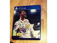 Ps4 games bundle Fifa 18, FIFA 17, 16, 15
