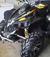 2009 can am renagade x package