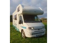 Peugeot Boxer Autocruise Pioneer IV in Superb Condition, fully kitted out and ready to go
