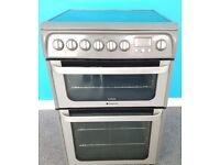 Hotpoint Electric Cooker HUE62G/FS20415 ,6 months warranty, delivery available in Devon/Cornwall