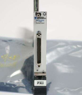 National Instruments Pxi-6733 16-bit Analog Output
