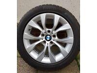 """BMW 17"""" ALLOYS WITH PIRELLI WINTER TYRES"""