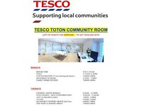 Tesco Toton Community Room