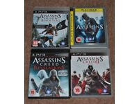 SONY PLAYSTATION PS3 GAMES SET 1 BATMAN FARCRY RED DEAD REDEMPTION