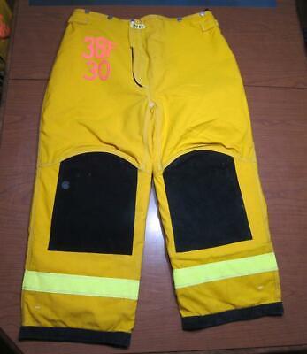 Lion Janesville Firefighter Fireman Turnout Gear Pants Size 38x30 - D B4