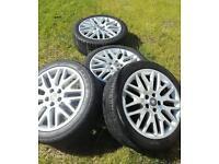 Vauxhall 18 inch alloys xp2