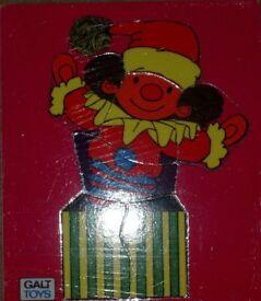 Clown Wooden 7-piece Puzzle