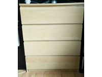 Chest of 4 drawers - great conditions