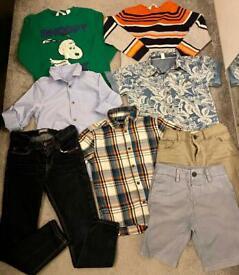 Boy clothing bundle -5-6 years