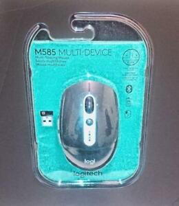 Logitech M585 Multi-Device Mouse Wireless Bluetooth/USB  New