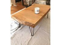 SOLID SLAB COFFEE TABLE