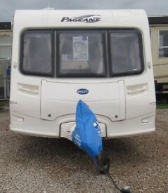 BAILEY PAGEANT SERIES 5 AUVERGNE 2006 *DOUBLE DINETTE* 5 BERTH CARAVAN