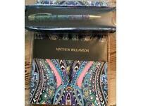 Matthew Williamson note book and pen set brand new