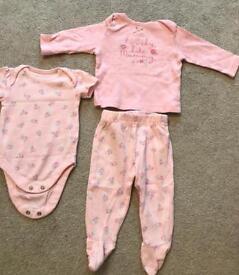 Baby girl set from George at Asda