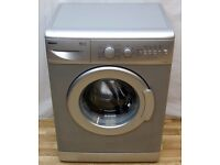 Beko Silver Washing Machine Compact space saving 1400 RPM, A+A Energy Saver, Fully Working, Watford