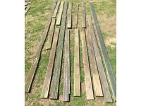 15 x 95mm x 25mm Decking Planks Wood Timber nr Brighton