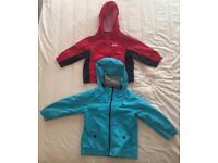 Boys various jackets x 2