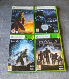 HALO selection of Xbox 360 games