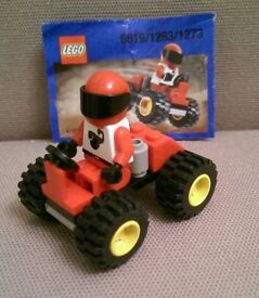 LEGO Racers 6619 Red Four Wheel Driver 2000.