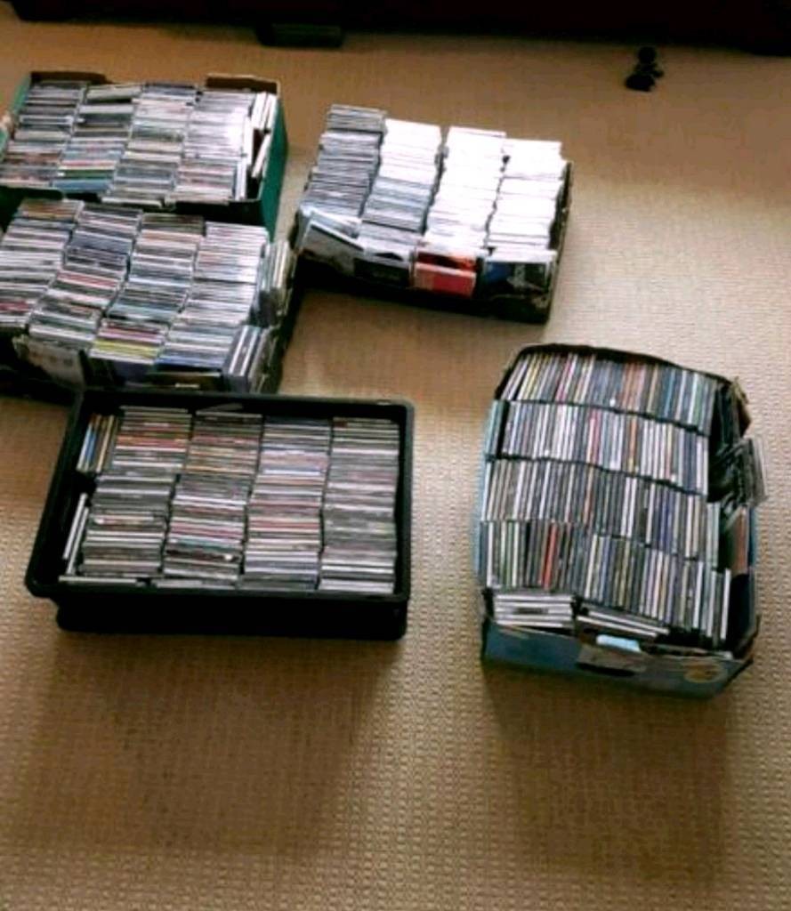 Huge Collection of close to 1000 cds all