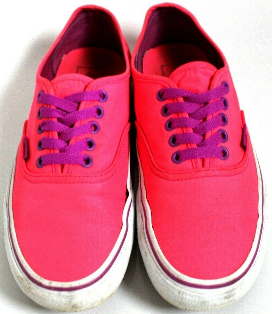 3a4f766ffe2c72 Ladies Size 7 Pink Vans Trainers
