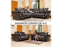 corner sofa or 3+2 sofas fabric or leather, many on offer, sofas, tv beds bed, wardrobes call now