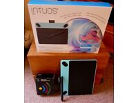 Wacom Intuos Art Pen and Touch Tablet – Small- Mint Green - Great Photography Tool