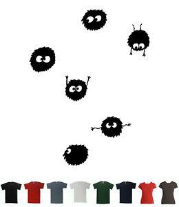 Soot-Sprites-T-Shirt-Ghibli-Catbus-Totoro-Ponyo-Tee-Neighbour-Anime-Miyazaki-T