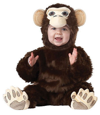 Animal Planet Chimpanzee Monkey Ape Infant Costume