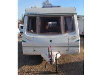 ABBEY GTS VOGUE 418 2003 *FIXED BED* 4 BERTH CARAVAN