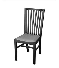 Ikea Norrnas Dining Chair Black x 6