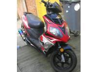 Longia 125cc moped