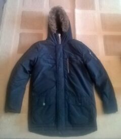 Boys navy Parka jacket from NEXT - never worn - Size 16 years - Bargain !