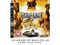 Get Saints Row 2 on PS3 Pre-owned for just £2.45p!