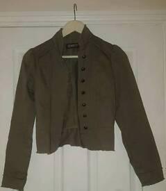 Ladies Khaki Jacket