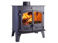 HUNTER HERALD 80B BOILER STOVE 25KW !!! FREE DELIVERY MULTI FUEL WOOD COAL TURF BLOCKS stoves