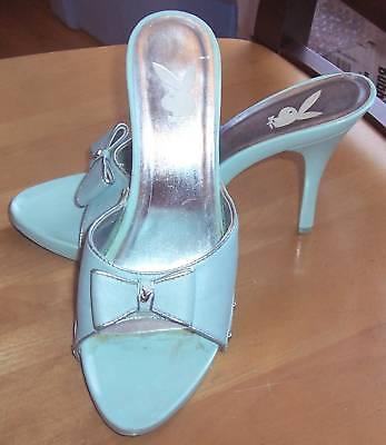 Playboy Women's Shoes Hepburn Light Blue 9M - Playboy Womens Shoes
