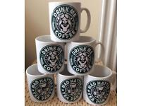 Set Of 6 Mix and Match Mugs