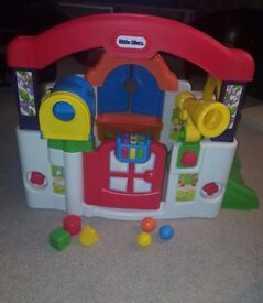 Little tikes baby activity garden play house