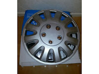Top Tech 15 inch Wheel Cover Silver (Set of 3)