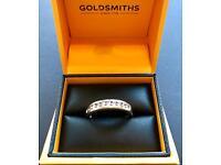 Beautiful Diamond Goldsmiths Ring