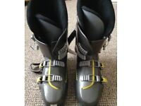 Dynafit Charcoal & Yellow SKI BOOTS Size 28 uk 9