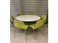 MAGIS XZ3 Dining Table and 6 OFFECCT Cornflake Chairs